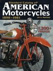 Standard Catalog of American Motorcycles 1898-81 by J Hatfield Harley Indian US